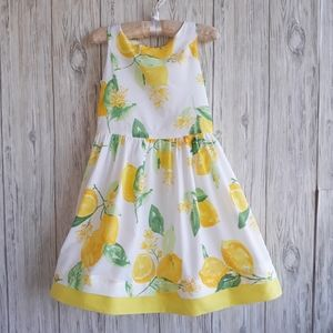 Gymboree Egg Hunt Lemon Dress Size 5